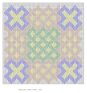 Celtic Knots in Brickstitch